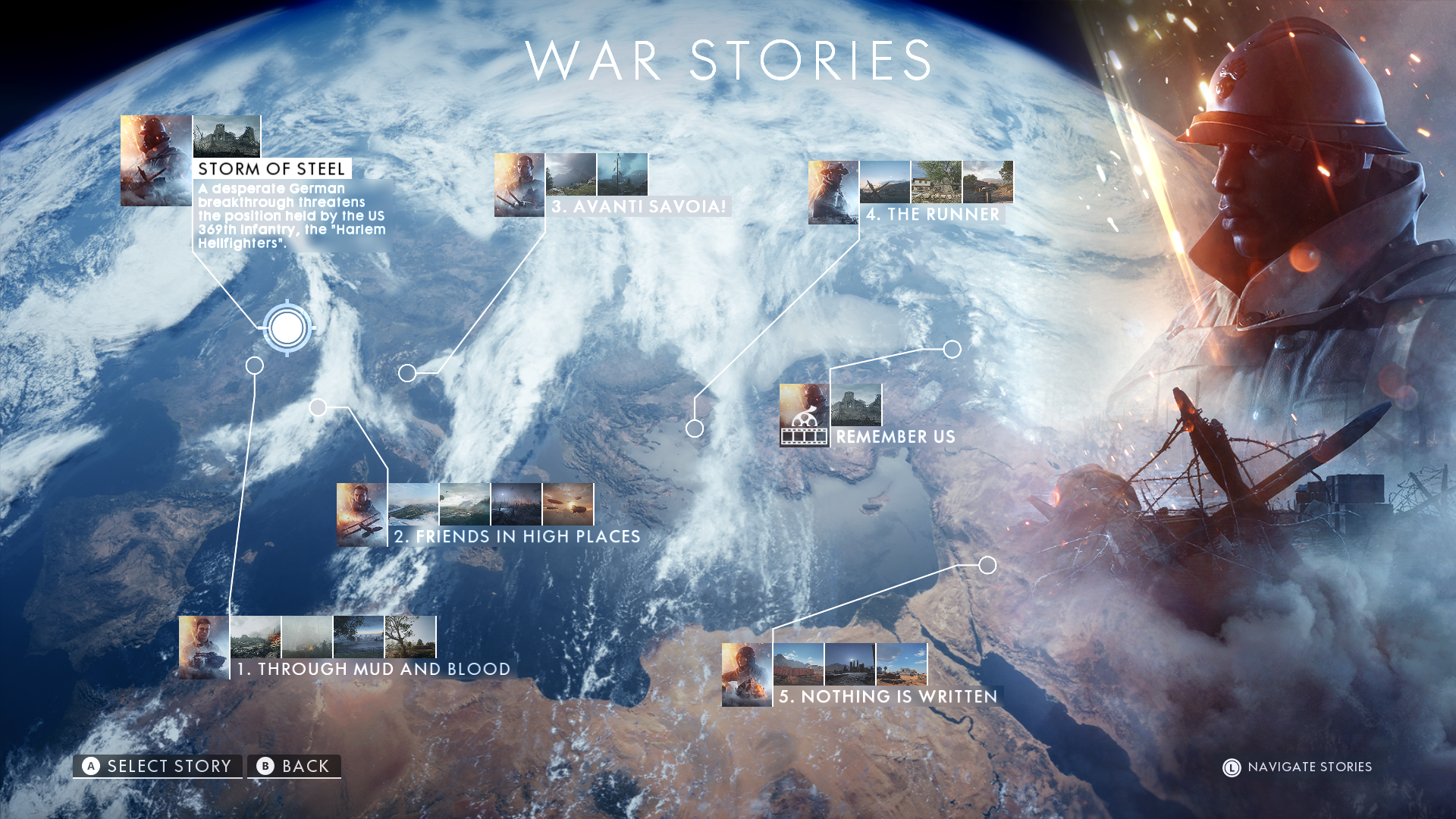 battlefield1 campaign map